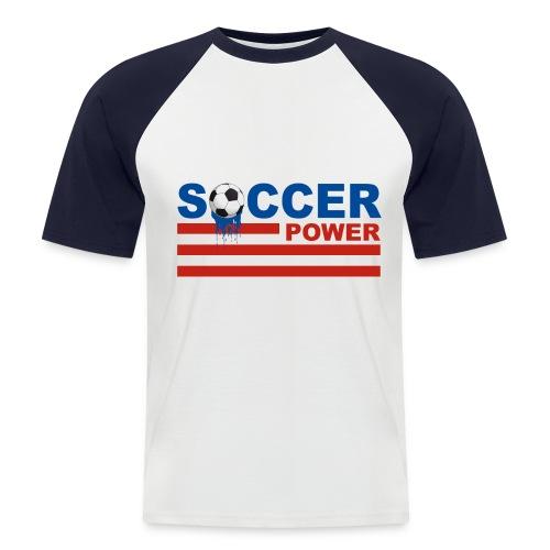 usa soccer - Men's Baseball T-Shirt