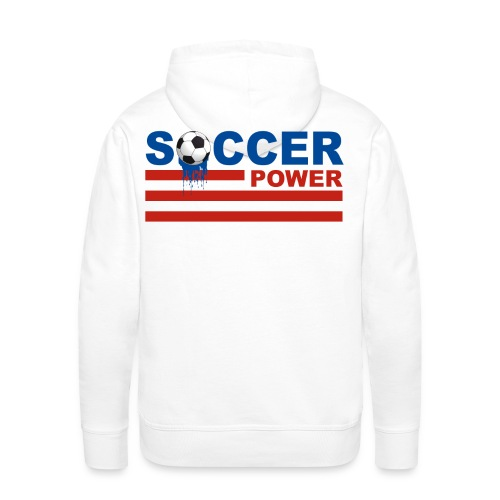 usa soccer - Men's Premium Hoodie