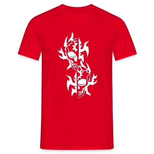 T-Shirt Tribal rot - Männer T-Shirt