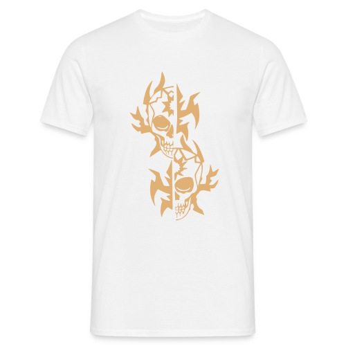 T-Shirt Tribal weiß - Männer T-Shirt