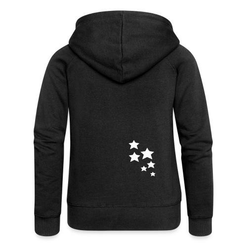 Stars ♀ - Frauen Premium Kapuzenjacke