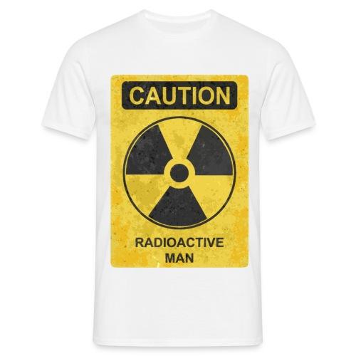 Radioaktiv mann - T-skjorte for menn