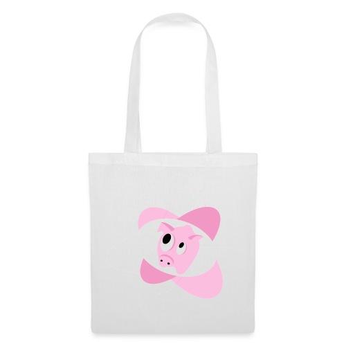 Sac Cochon blanc - Tote Bag