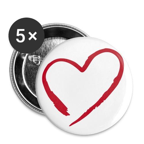 Buttons :D - Buttons klein 25 mm