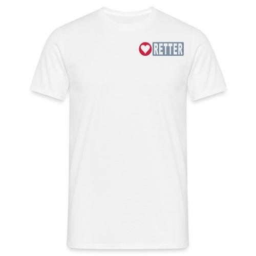 Rettershirt - Männer T-Shirt
