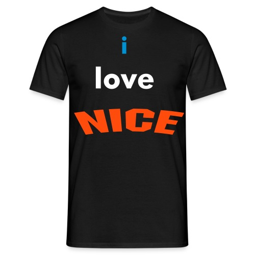 i love NICE - T-shirt Homme