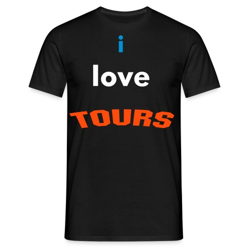i love TOURS - T-shirt Homme