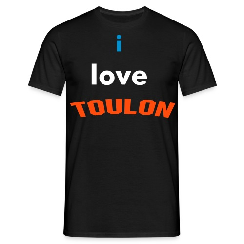i love TOULONS - T-shirt Homme