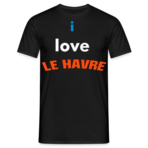 i love LE HAVRE - T-shirt Homme