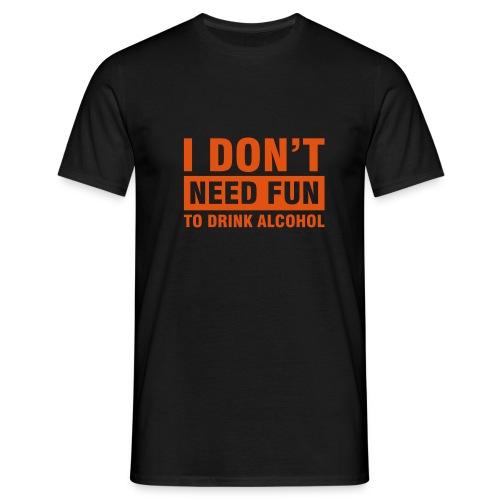 Alcohol - Männer T-Shirt