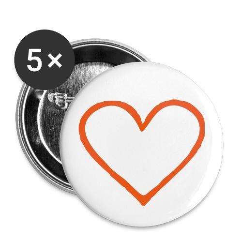 Coeur 01 - Badge petit 25 mm