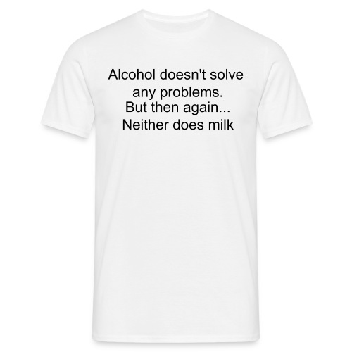 Alcohol Shirt - Mannen T-shirt
