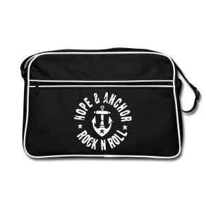 Hope & Anchor - Rock´n´Roll Retro - Tasche - Retro Tasche