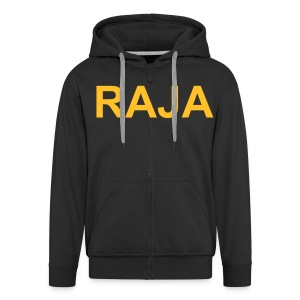 raja004 - Men's Premium Hooded Jacket