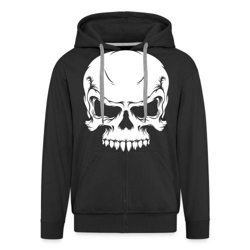 boi skull - Männer Premium Kapuzenjacke