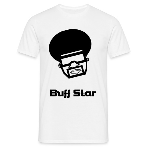 Buff Star afro tee - Men's T-Shirt