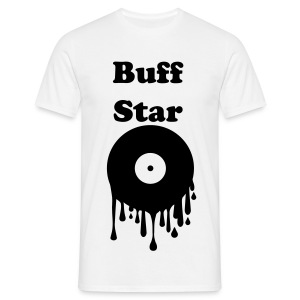 Men's T-Shirt - Buff,CD,Star,drips Disc