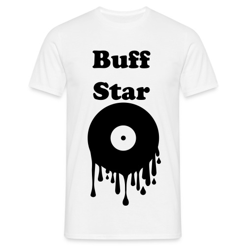 Men's T-Shirt - drips Disc,Star,CD,Buff