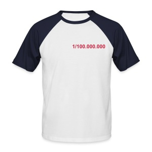 Be one of a million - Mannen baseballshirt korte mouw
