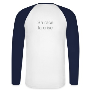 The winter T-shirt Sa race la crise for him #2 - T-shirt baseball manches longues Homme