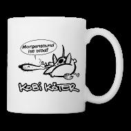 Tassen & Zubehör ~ Tasse ~ Kobi Köter Morgenstund Kaffeetasse