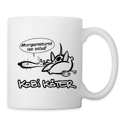 Kobi Köter Morgenstund Kaffeetasse - Tasse