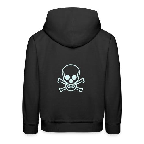 Kids Skull Hoodie - Kids' Premium Hoodie