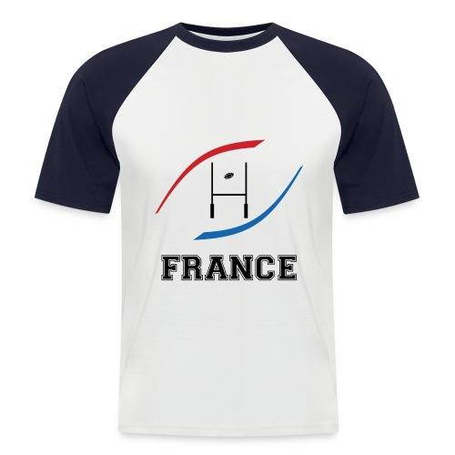 t-shirt France manche courtes homme - T-shirt baseball manches courtes Homme