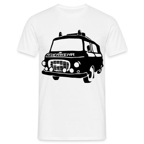 BARKAS B1000 KLF WEISS/SCHWARZ - Männer T-Shirt