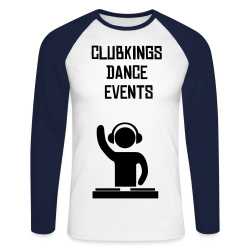 CLUBKINGS DANCE EVENTS - T-shirt baseball manches longues Homme