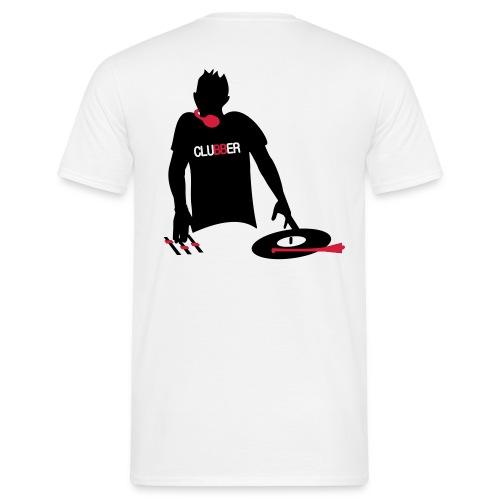 Männer T-Shirt cluBBer weiß - Männer T-Shirt