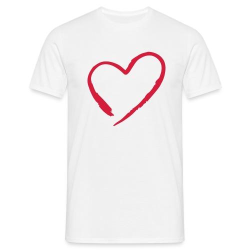 Basis-T-Shirt Heart - Männer T-Shirt