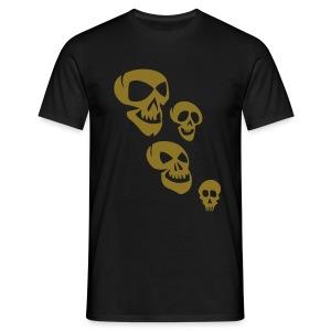 SKULLI 252 by BLACK IS BEAUTY FOR VAN TRIBE - Men's T-Shirt