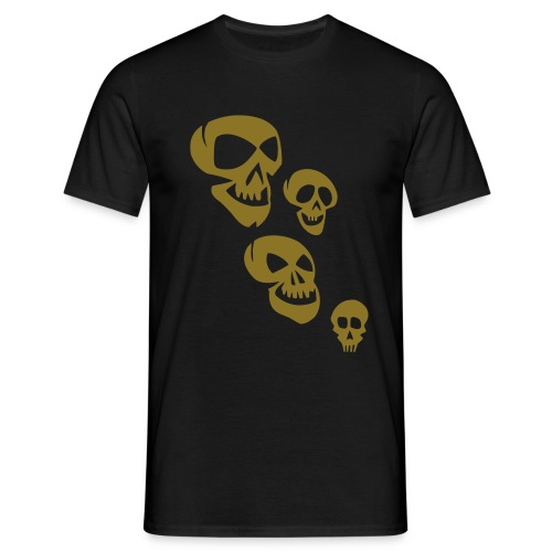 SKULLI 252 by BLACK IS BEAUTY FOR VAN TRIBE - Men's T-Shirt