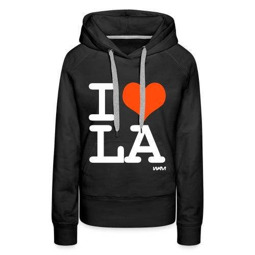 Los Angeles Love - Frauen Premium Hoodie