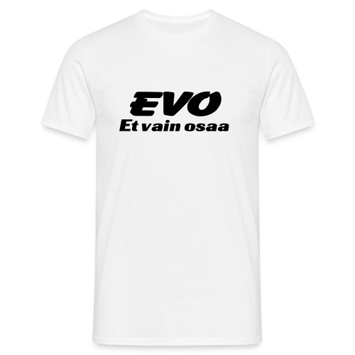 EVO T-shirt White - Miesten t-paita