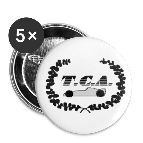 T.C.A. - Sticker - Buttons klein 25 mm
