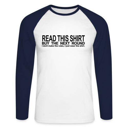 Exer - Männer Baseballshirt langarm