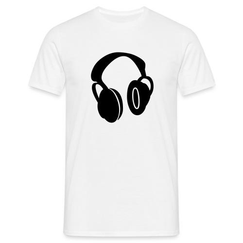 casque deejay - T-shirt Homme