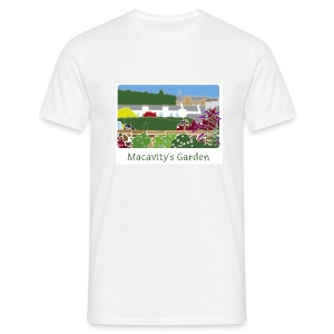 Macavity's Garden - large image - Men's T-Shirt