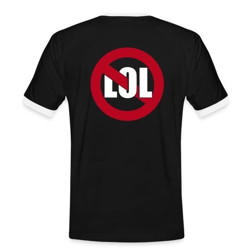 LoL / black&white - Men's Ringer Shirt