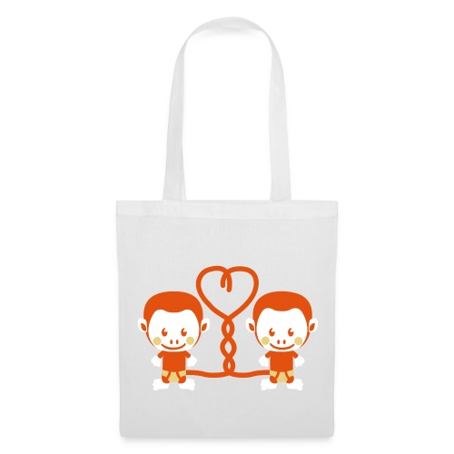 Monkey Love  - Tote Bag