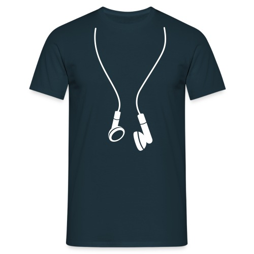 HEADPHONES MARINE - Herre-T-shirt