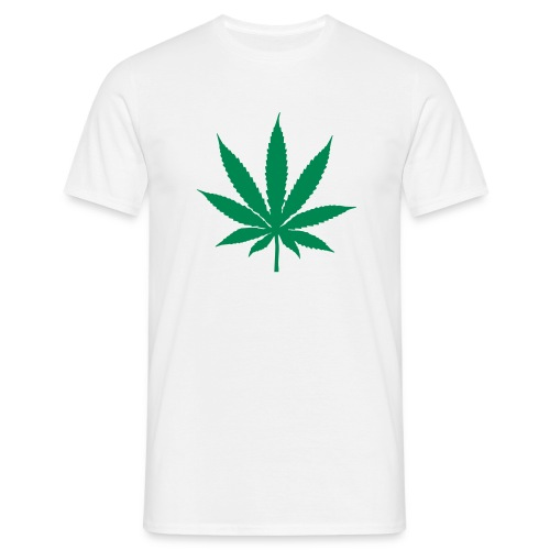 T-shirt Cannabis - white - Men's T-Shirt