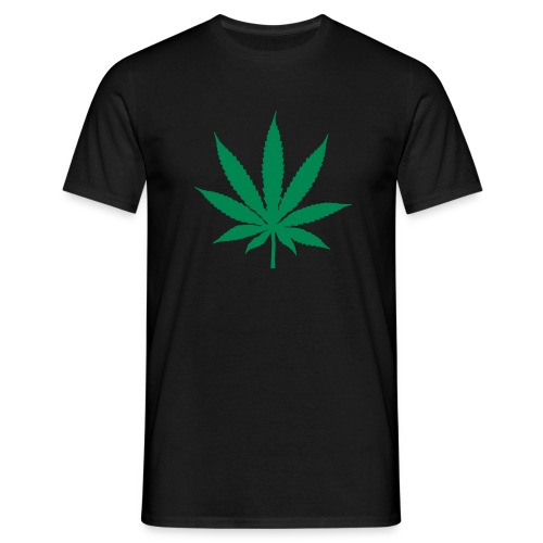T-shirt Cannabis - black - Men's T-Shirt