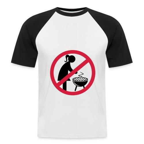 BBQ - Mannen baseballshirt korte mouw