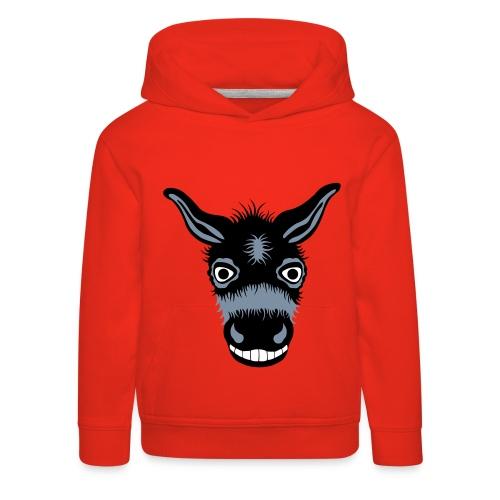 Donkey - Premium hættetrøje til børn