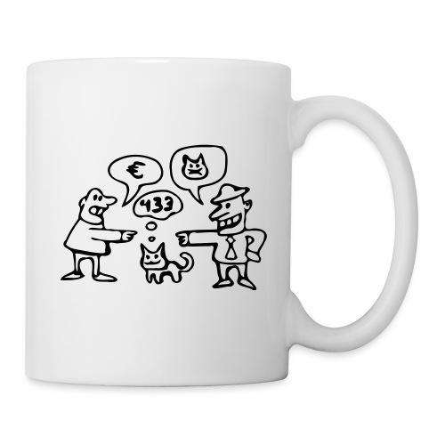 Kaufvertragstasse (für Linkshänder) - Tasse