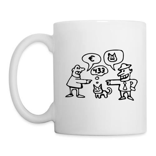 Kaufvertragstasse (für Rechtshänder) - Tasse
