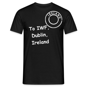 IWF Postage Paid T - Men's T-Shirt